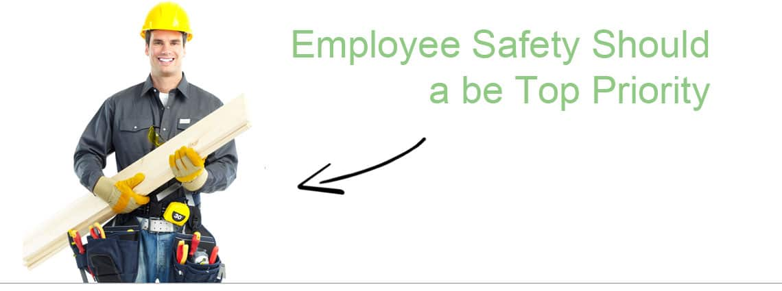 Safe Employee With Tools